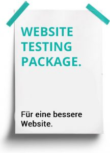 Website Testing Package
